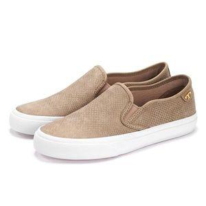 Tory Burch Tan Lennon Slip On Sneakers Size 8